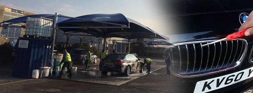 Pro Hand Car Wash (Aylesbury) - Under Blue Canopies